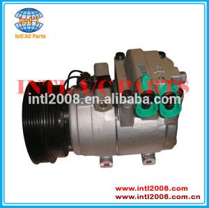 Halla- hcc hs-15 compressor ac, auto ar condicionado 977012c600 97701 2c600 para hyundai tiburon 2.7l 2003-2008