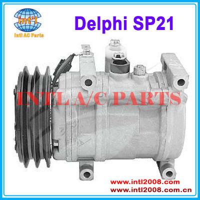 Delphi SP21 AA/2GR a/c compressor 143mm 12V 10 CYLINDER SWASH PLATE OEM#751148