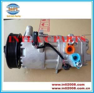 Um csv613c/compressor ac para bmw 1 3 série e81 e82 e87 e88 e90 e91 e92 e93 e93lci x1 e84 116i 118i 120i 691538008 64509156821