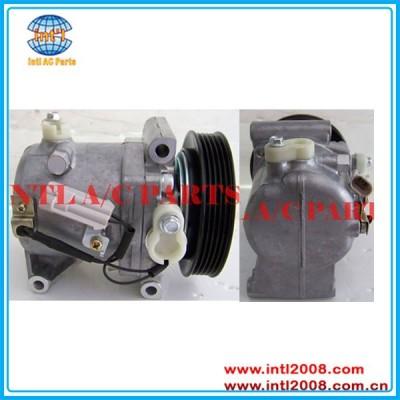 Compressor de ar condicionado calsonic fiat palio fire/fim-de-semana 1. 0,1.3 1.4 e o uno idéia siena 2004> 2009