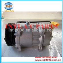 Compressor automotive sd7v16 para citroen xsara/peugeot 406/fiat ulysse/compressor ar condicionado 9646416780 1240 6453lx