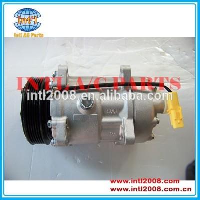 Sd7v16 auto compressor, ar condicionado 6453jn 9639109580 1240 6453lr 9646416780 1240 6453lx 6453lq para peugeot/fiat/citroen