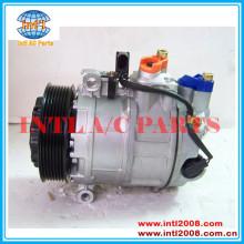 Denso 7seu17c compressor, ar condicionado 7l5820803 94812601100 767163 447150-1610 para porsche cayenne(955) 2002/09-