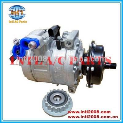 Denso 7SE17C Compressor AC Auto para AUDI / VW TOUAREG / MULTIVAN 2.5 TDI 2461cc 2003-2009 7H0 820.805J 7H0 820.805 H 7H0 820.805 G