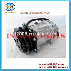 Sd7h15 compressor ac, ar condicionado 98462948 apto paraiveco eurocargo 1991-2002