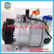 Denso 7SEU17C Auto A / C Compressor para Porsche Cayenne 4.5 04 - / Panamera 4.8 09 - 7L5820803 7L5820803A 94812601100 94812601101