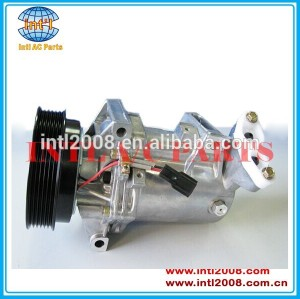 Calsonic cr12sc- 6pk-125mm compressor ac, ar condicionado 8200816362/8200816362/8201025121 para renault fluence sandero 1.5