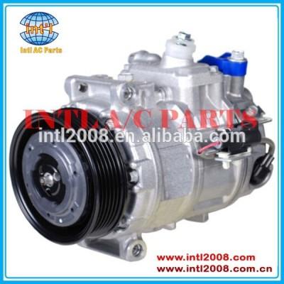Denso 7seu17c- 6pk-105mm compressor ac, ar condicionado jbp000173/lr012593/8h2219d623aa/jpb000172 para land rover range 4.4l