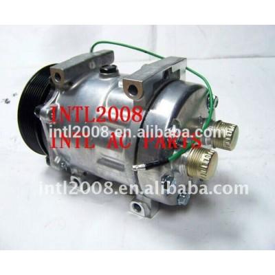 Embreagem pv8 sanden um/c compressor bomba w/embreagem sd 7h15 universal auto ar con kompressor
