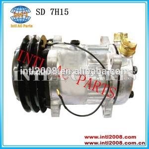 Pk 2 sanden 7975b 7h15 aplicar para claas jaguar 860 880 685 690 lexion/renault compressor ac