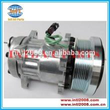 Sd7h15 compressor ac 8pk-- 24v, ar condicionado 4726 218-0324 4487 141-9616/218-0234/141-9676 para caterpillar 1985-2008