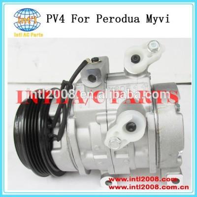 Popular boa qualidade sv07c um/c ac compressor bomba para perodua myvi 05-15 kompressor
