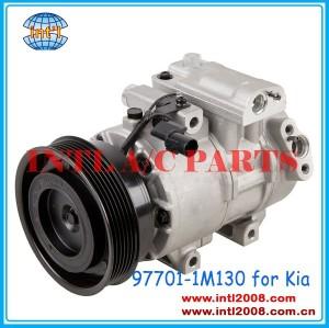 Dv13 ac compressor de ar para kia forte 2.0l/2.4l 4 cyl 2010-2013 2011 co 11090c 977011m130 97701- 1m130 97701- 1m130- dr 977011m130dr