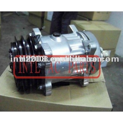 Universal sanden 709 8031 8033 um/compressor c w/2 embreagem bomba