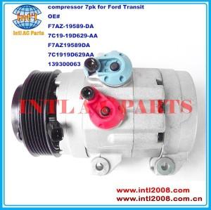 F7AZ-19589-DA 7C19-19D629-AA F7AZ19589DA 7C1919D629AA 139300063 auto ac compressor China supply for Ford Transit V348 2006-2012