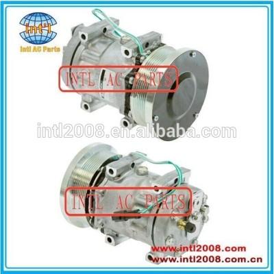 R134 24v auto compressor da ca w/embreagem para caterpillar série 1630872/4301/4769