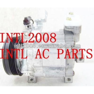 Zexel dkv-10r dkv10r compressor ac 4pk, ar condicionado 73111-fg001/73111-fg002/73111-sa010 para subaru impreza/forester/wrx