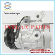 Bomba de ar condicionado compressor ac para perodua myvi 1.0/1.3 2011-2015 2013/sirion daihatsu