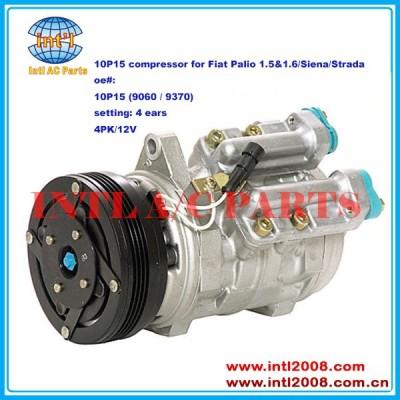 Denso 10p15 9060 9370 ar condicionado compressor ac para fiat palio 1.5& 1.6/siena/strada