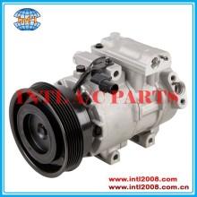 Dv13 compressor ac 6pk, ar condicionado 97701- 1m130 97701- 1m130dr 977011m130 977011m130dr 2010-2013 para kia forte 2.0l& 2.4l