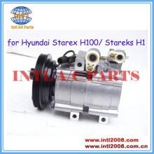 Hcc compressor de montagem para hyundai starex h100/stareks h1 1996-2006/para kia 71-5802118 97701- 4a470 97701- 4a400 977014a400