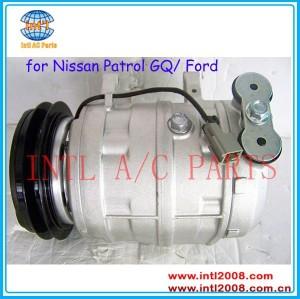 Para ford maverick dd 1987-96/para nissan patrol gq 1985-1997 ar condicionado compressor ac 506011-6112 92600- 54n00 90340-45010