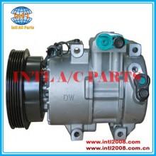 Dv13 compressor ac pv5-125mm, ar condicionado 977011g300as 97701- 1g300 97701- 1g300as 97701- 1g311 para kia cerato/spectra/rio