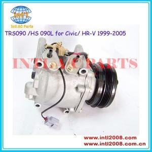 Sanden 3057 4956 4955 ar condicionado compressor para civic 1. 6/cr-v 2. 0/crx( del sol) 1.5 1994-2000/hr-v 2001 38810p06a06 38810p2fa01