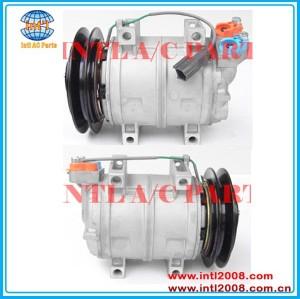 Diesel kiki dks15ch compressor ac para hitachi ex200/john deere/kawasaki/kobelco/komatsu 506011-9910 506211-7980 506011-9751