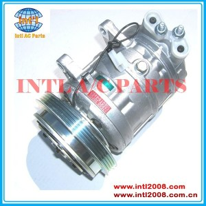 Zexel DKS 16 H AC compressor PV4 - 143 mm ar condicionado 92600-48P00 / 92610-48P00 / 92600-30P11 / 92610-48P01 para NISSAN 300ZX 90-95