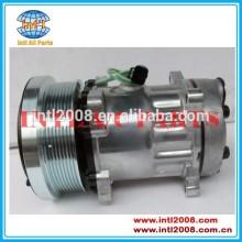 24v sd4487 sd4726 auto ar condicionado compressor da bomba para o caso- caterpillar caminhão 1769676 2180234 1419676 1419616 114-9487