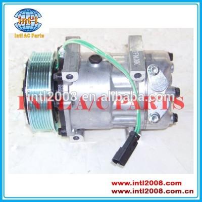 compressor sd7h15 para jcb heavy duty equipamentos 8203 pv8 120mm 12v direto vert tapetesdecarro inclinado auto ac compressor bomba