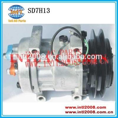 1b 24v auto compressor da ca para a caterpillar sanden 7351 um/c compressor sd7h13 146mm direto mt wl cabeça