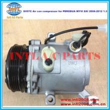 Denso sv07c compressor de ar con/bomba para perodua myvi sxi 2006-2012 1.3