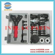 condicionador de ar do carro compressor hub embreagem removedor installer kit de ferramentas de remoção
