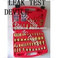 Teste de vazamento dispositivo ferramentas/reparo de vazamento test kit r134a auto peças da ca para a europa e o carro japonês