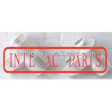 Auto mangueira ac montagem de acessórios para tubos de alumínio #6 15.8mm encaixe de mangueira para ss96 compressor de montagem da placa de pressão( r134a montagem)