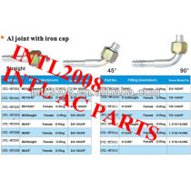 #5 Auto AC female R12 O-ring Barb hose Fitting tube fitting pipe fitting