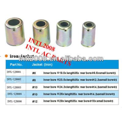 Universal ac use um/c mangueira montagem mangueira ponteira ponteira para ar condicionado automático tamanho #10 made in china