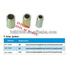 Universal ac de alta qualidade de ferro tampa da mangueira montagem mangueira virola virola mangueira para ar condicionado automático tamanho 1/2 made in china