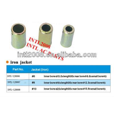 China 13/32 ac de alta qualidade de mangueira de ferro tampa de ferro ponteira encaixe de mangueira de ferro encaixe de mangueira para ar condicionado automático