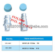 R134a Auto air conditioner iron valve seat hose fittings valve seat hose adapter hose connector hose coupling