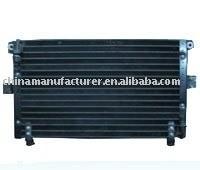 Automóvel condensador de ar condicionado