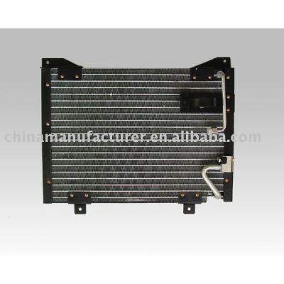 Auto condensador / condensador de refrigeração / carro condensador / isuzu condensador
