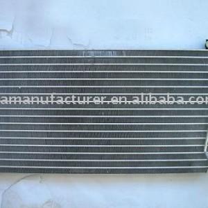 Auto condensador/ refrigeração do condensador/ condensador do carro/ ac condensador/ mitsubishi n31 r12 condensador