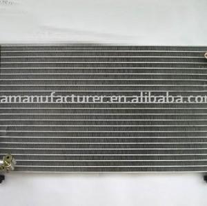 Auto um/ condensador c/ refrigeração do condensador/ condensador do carro