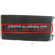 ac auto condensadores de refrigeração uso universal serpentina do condensador de alumínio 14x28x22mm