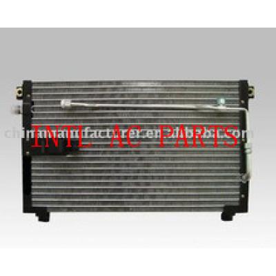 Auto condensador/refrigeração do condensador/condensador do carro para isuzu 98-2000 condensador