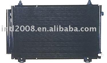 Auto condensador para toyota corolla 2003/ china auto condensador fabricação/ china condensador fornecedor