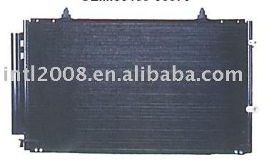 Auto condensador para toyota camry 2.4/ china auto condensador fabricação/ china condensador fornecedor